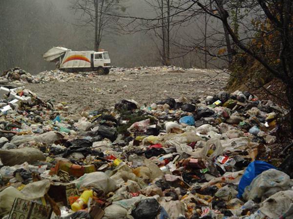 انتقال زباله ها
