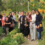بازدید مردم از مزرعه گوکرن